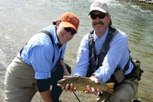 North Fork Anglers :: Complete fly shop with online shopping. Top notch guide service for Cody and Yellowstone.  Check out our online fishing reports.