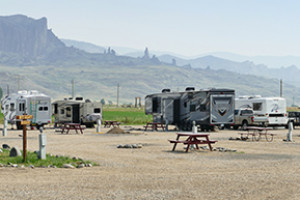 East Yellowstone Lodges and RV Camping