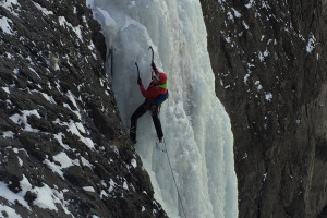Cody, Wyoming Ice Climbing: Double Diamond X Ranch