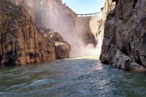 Buffalo Bill Dam - Free Visitor Center!