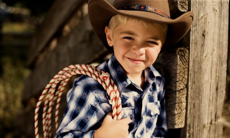 Kid in the Wild West