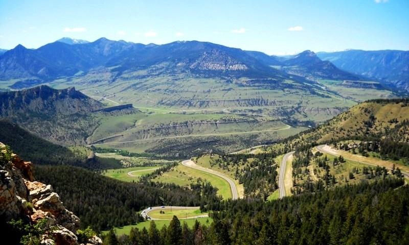 Chief Joseph Scenic Highway In Wyoming Alltrips