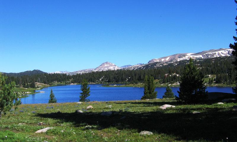 Little Bear Lake along Beartooth Pass