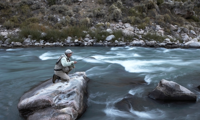 Shoshone River North Fork Wyoming Fly Fishing Camping