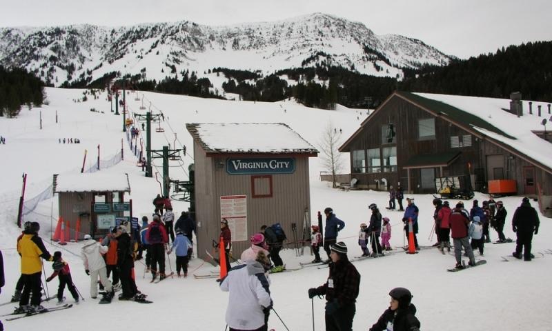 Bridger Bowl Ski Area Resort Bozeman Montana Skiing