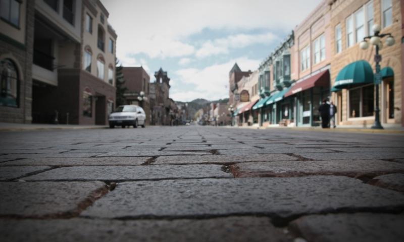 Deadwood South Dakota Downtown