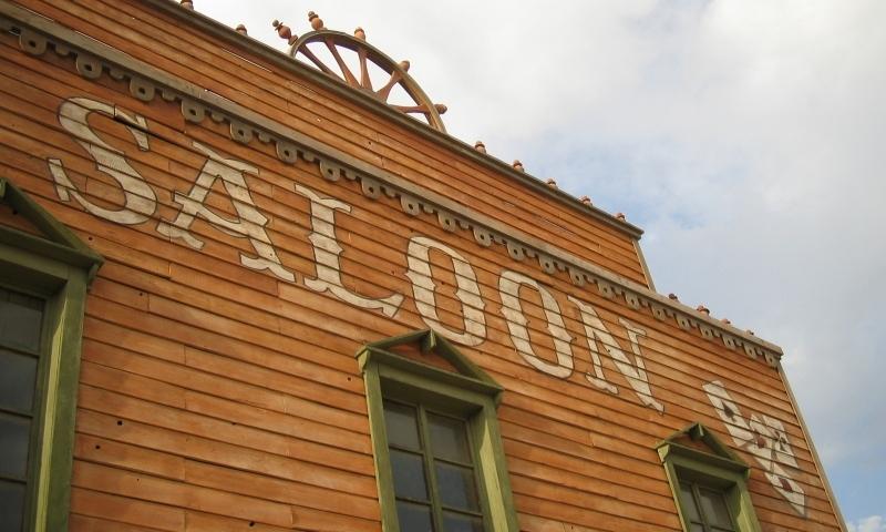 Deadwood South Dakota Downtown Saloon