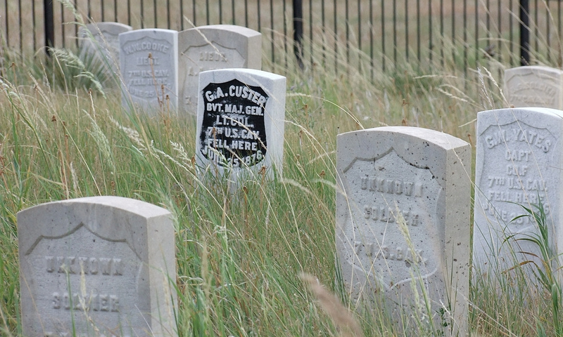Little Bighorn Battlefield in Montana
