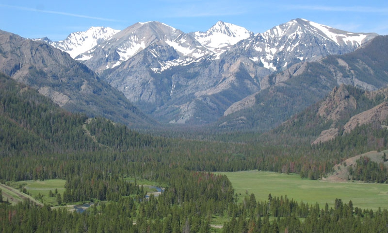 Sunlight Basin Wyoming Map.Wyoming Hiking Backpacking Trips Wapiti Alltrips