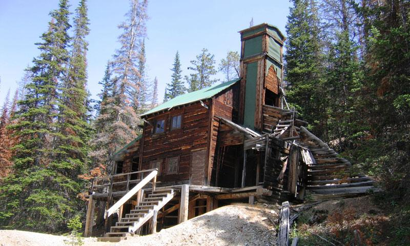 Kerwin Ghost Town near Meeteetse Wyoming