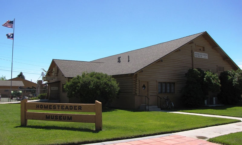 Homesteader Museum in Powell Wyoming