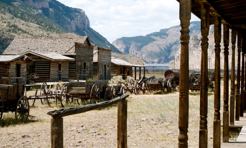 Old Trail Town in Cody Wyoming