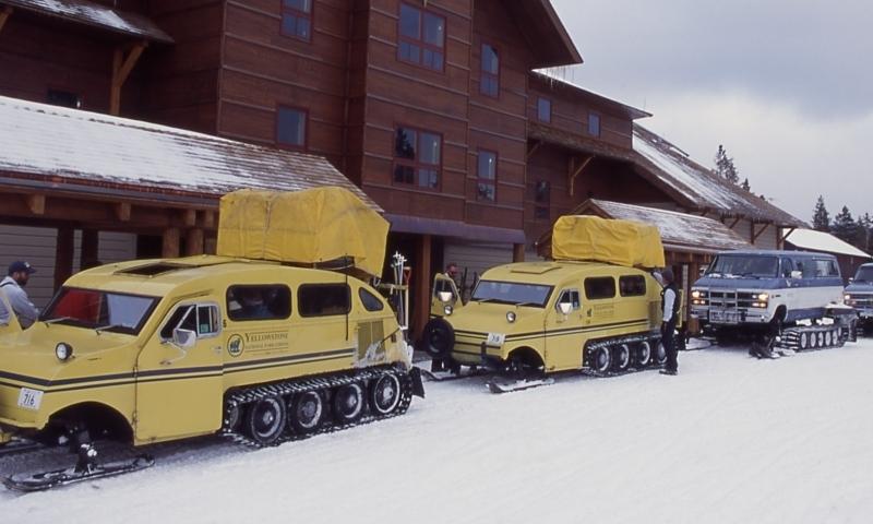 Cody Wyoming Snow Coach Winter Tours Alltrips