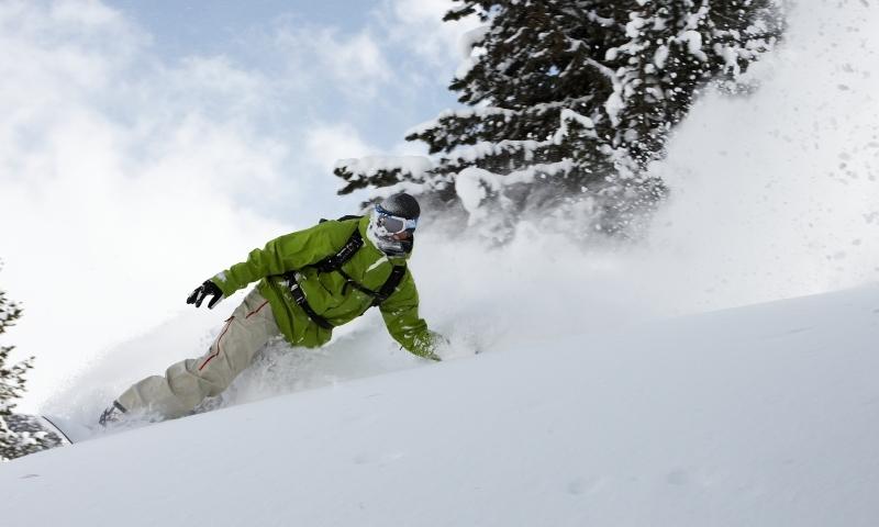 Cody Wyoming Snowboarding