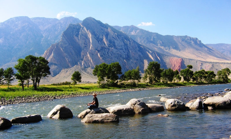 Cody wyoming summer vacations activities alltrips for Cody wyoming fly fishing